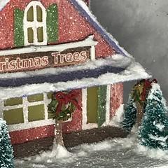 Christmas Tree Lot (christmasnotebook) Tags: christmasnotebookcom christmasvillage christmasputz putzchurch vintagestyle putz littleglitterhouse glitterhouse putzvillage papercraft papercrafting cardboardhouse cardboardvillage wwwetsycomshopchristmasnotebook christmastreelot 171719