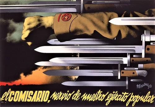 Renau, El comisario, nervio de nuestro ejército popular, 1936.  Fundació Josep Renau.