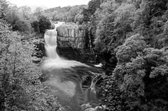 HIgh Force (daveseargeant) Tags: high force waterfall water river tees teesdale leica x typ 113 monochrome black white blackwhite long exposure