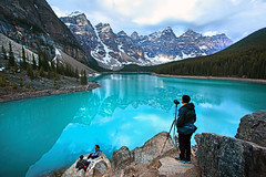 Moraine Lake (ashockenberry) Tags: ashleyhockenberryphotography wild wilderness eco ecosystem travel tourism reserve nature naturephotography natural national park banff alberta canada landscape majestic mountains canadian rockies scenery vista beautiful moraine lake photographer