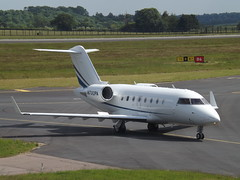 N732PA Bombardier Canadair Challenger 601-3A (TVPX ARS Inc Trustee) (Aircaft @ Gloucestershire Airport By James) Tags: luton airport n732pa bombardier canadair challenger 6013a tvpx ars inc trustee bizjet eggw james lloyds