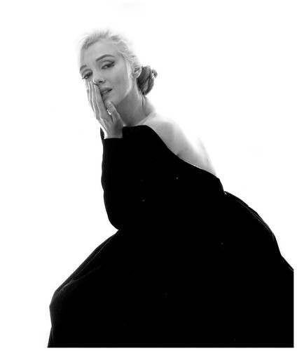 Marilyn Monroe - Fotografía de Bert Stern, Vogue, 1962