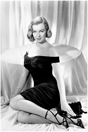 "Marilyn Monroe posa para la película ""La selva de asfalto"", 1950. (Foto AP)"