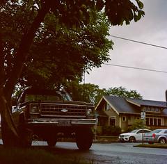 Portland, Oregon (bior) Tags: portland oregon hasselblad500cm hasselblad portra portra160nc kodakfilm expiredfilm mediumformat 120 square street car suburbs residential