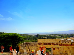View From the Acroplis Hill (dimaruss34) Tags: newyork brooklyn dmitriyfomenko image sky clouds skyline greece athens acropolis acropolishill mountains people building