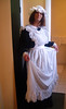 Old Maid (justplainrachel) Tags: justplainrachel rachel cd tv crossdresser transvestite maid uniform victorian dress apron curtsey cute retro vintage