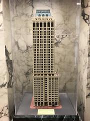 Mid-Continent Tower model (plasticfootball) Tags: tulsa oklahoma midcontinenttower deco architecturalmodel