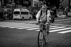 Tokyo 2019 (burnt dirt) Tags: bikebicycle scooter asian japan tokyo shibuya station streetphotography documentary candid portrait fujifilm xt3 bw blackandwhite laugh smile cute sexy latina young girl woman japanese korean thai dress skirt shorts jeans jacket leather pants boots heels stilettos bra stockings tights yogapants leggings couple lovers friends longhair shorthair ponytail cellphone blonde brunette redhead tattoo model train bus busstation metro city town downtown sidewalk pretty beautiful selfie fashion harajuku people person costume cosplay boobs