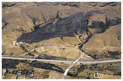 Central California_0037 (Thomas Willard) Tags: aerial central california scar burn landscape fire freeway road highway overhead
