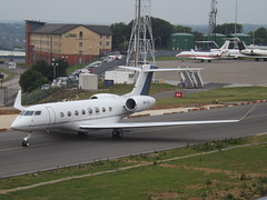 VP-CYL Gulfstream G650 (Tycoon Fly Ltd) (Aircaft @ Gloucestershire Airport By James) Tags: luton airport vpcyl gulfstream g650 tycoon fly ltd bizjet eggw james lloyds