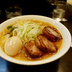 チャーシューラーメン ramen soup topped with slices of roasted pork ¥1260 (Takashi H) Tags: ramen noodles food japan hokkaido ラーメン 日本 北海道