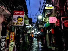 Hair of the Dogs (Los Paseos) Tags: goldengai shinjuku japan tokyo alley signs bars