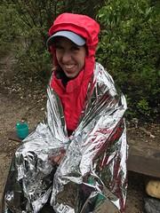 Space woman Lindsey - Iceline Trail - Yoho National Park (daviddodge2002) Tags: yoho national park iceline hiking bc glaciers rocky mountains daviddodge