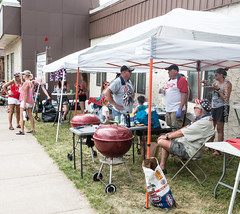 Barbecue for the Parade (scattered1) Tags: july4th shelter summer mi marquette northernmichigan grill northern independenceday barbecue parade 2019 upperpeninsula michigan