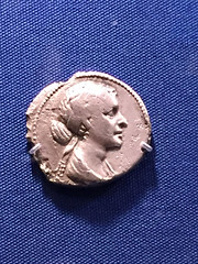 1-20 Pergamon at The Met (MsSusanB) Tags: greece classical metropolitanmuseumofart metmuseum hellenistic pergamon silver coin cleopatra