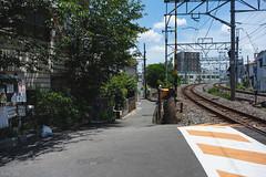 街 (fumi*23) Tags: ilce7rm3 a7r3 sony street sel35f28z sonnar sonnartfe35mmf28za osaka kyobashi rail 街 大阪 京橋 踏切 線路 35mm ソニー