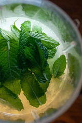 My only requirement (backbeatb00gie) Tags: 50mm fridaynight mojito drink green hot leaves mint nikon reflection rum summer