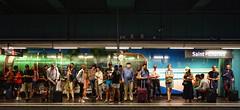 - (txmx 2) Tags: marseille people metro stcharles
