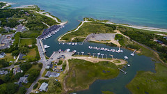 Orleans, MA (kylenolin) Tags: capecod orleans ma mass massachusetts rock harbor cape cod new england drone dji phantom 3 advanced marsh creek high tide