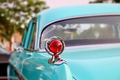 When Cars Were Reliable (Haytham M.) Tags: outdoor outdoors stop light street american classic car