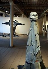 Jim Arendt, fabric sculptures (chasdobie) Tags: art artist jimarendt fabric sculpture almonte lanarkcounty ontario canada indoor nikon display