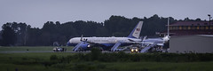 Presidential Visit '19 (R24KBerg Photos) Tags: airforceone airforcetwo 757 airplane president donaldtrump mikepence pgv 2019 runway airfield famous usa government vicepresident greenvillenc greenville pittcounty republican campaignrally unitedstatesofamerica boeing c32 boeingc32 757200