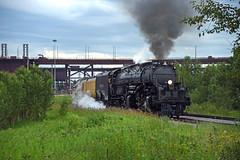 Big Boy by the docks! (CN Southwell) Tags: up 4014 2019 duluth mn minnesota big boy