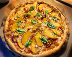peach_pizza (ddotcom12) Tags: froghollowfarmpeaches peachpie cook bake pizza