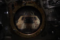 Apollo 11 Command Module thru window of hatch 2019-07-20 SA IMG_2701 (acturpin) Tags: apollo11 museumofflight