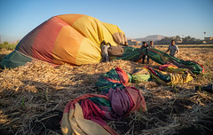 Luxor Balloon Ride (lornahamblin) Tags: luxor egypt hotairballoon