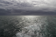 Morning in sea after the storm (soniamarmen) Tags: morning afterstprm agitated clouds darksea golfe stlawrence