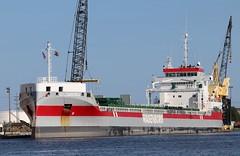 Volgaborg (raserf) Tags: volgaborg port milwaukee jones island wisconsin lake michigan cargo ship wagenborg shipping bv delfzijl netherlands great lakes saltie imo9631072 inner harbor vessel