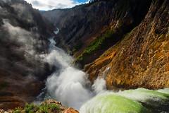The birth of clouds (debamalya.chatterjee) Tags: landscape landscapephotography yellowstone yellowstonenationalpark nature nationalpark naturephotography