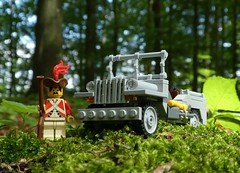 Re-enactment done wroight (captain_j03) Tags: toy spielzeug 365toyproject lego minifigure minifig moc car auto jeep 6wide willysjeep