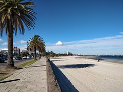East - St Kilda Beach on a warm 17°C Winter day in Melbourne (avlxyz) Tags: