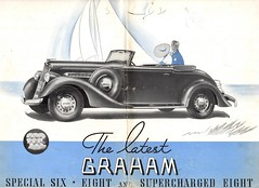 1935 Graham Supercharged Eight Convertible Coupe (aldenjewell) Tags: 1935 graham supercharged eight convertible coupe brochure