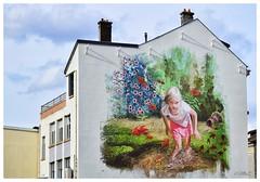 couleurs dans la ville (BelSoq) Tags: fresque mur peinture