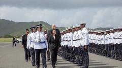 07.19 總統與訪團離開聖露西亞 (Taiwan Presidential Office) Tags: 中華民國 台灣 總統 蔡英文