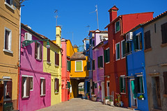 Burano island - Venice - April 2019 (Dis da fi we) Tags: venice island burano houses heritage painting fishing colours village bright handmade lace lagoon canals venetian tradition northern picturesque coloured brightly boatfilled