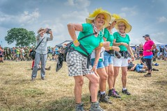 a girls day out (stevefge) Tags: 2019 cuijk vierdaagse ladies women march marchers walkers walk walkoftheworld unsuspectingprotagonists unsuspecting candid fun event nederland netherlands nl nederlandvandaag nikon reflectyourworld people