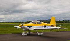 G-RTRV RV-9, Scone (wwshack) Tags: egpt psl perth perthkinross perthairport perthshire rv9 scone sconeairport scotland grtrv