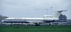Tu-154 | CCCP-85542 | AMS | 19920500 (Wally.H) Tags: tupolev tu154 tupolev154 cccp85542 aeroflot ams eham amsterdam schiphol airport
