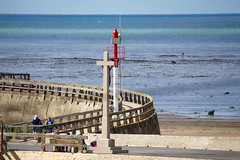 La jetée / Calvados (michel David photography) Tags: mer jetée port harbor calvados normandie