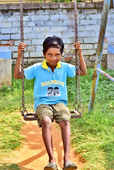 """""""Never Underrate A Street Childern!"""" (SHAN DUTTA) Tags: happiness street nikond5300 india colour portrait"""