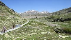 Staumauer des Lago Bianco, 26.6.19 (ritsch48) Tags: bernina puschlav valposchiavo lagobianco staumauer