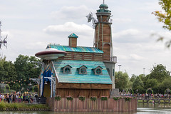 Boat house stage at (verchmarco) Tags: festival tomorrowland europa belgium brussel europe 2019 brüssel music architecture diearchitektur old alt travel reise water wasser sky himmel noperson keineperson building gebäude summer sommer park outdoors drausen traditional traditionell wood holz lake see tower turm city stadt museum street strase house haus family familie landscape landschaft