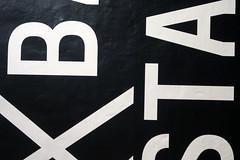 Reading (YIP2) Tags: pattern letter design interior interiordesign detail abstract minimal minimalism black