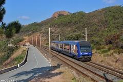 Z23528 - AUTOM - Train n°881255 Les Arcs-Draguignan > Cannes (nicolascbx) Tags: z23500 z23528 sncf terpaca ter regionaltrain emu electricmultipleunit lesarcsdraguignan cannes anthéor train zug chemindefer frenchriviera esterel