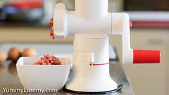 Mincing beef and pork (garydlum) Tags: beef mincegrinder pork canberra australiancapitalterritory australia