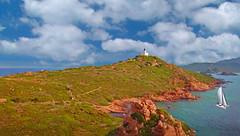 CORSICA - île Sanguinaire (Jacques Rollet (Little Available)) Tags: corsica sea island boat sailboat mer voilier île cloud sky nuage ciel groupenuagesetciel